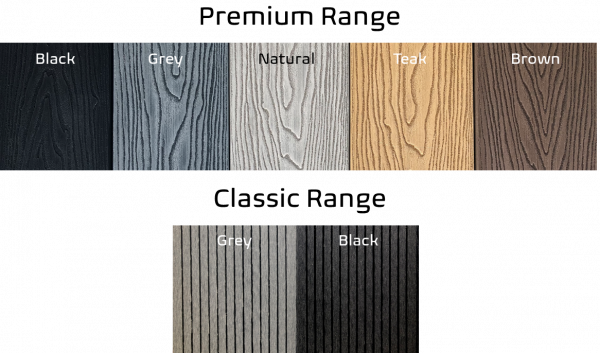 Composite Decking Colour Range CompDeckUK